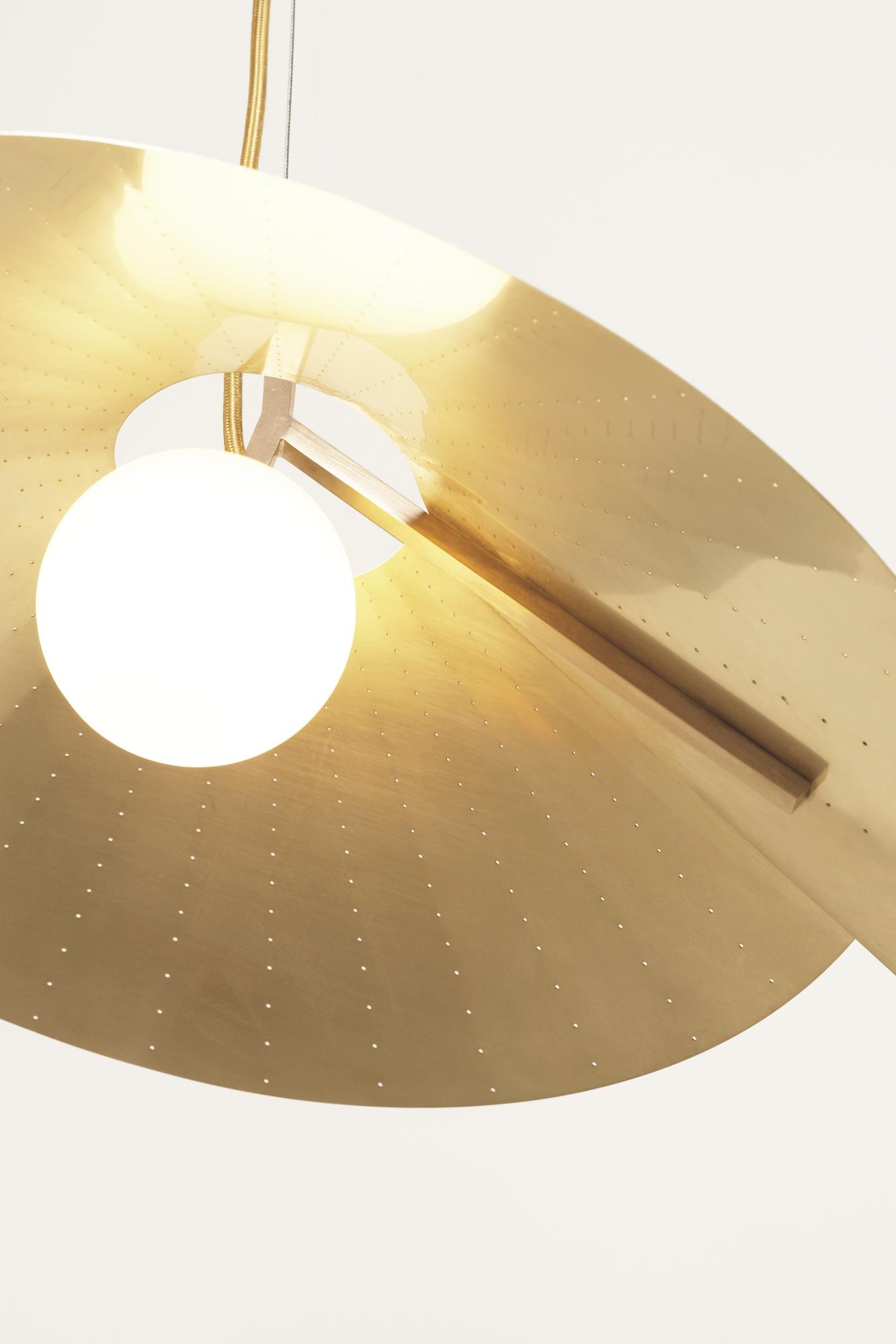 Atelier de Troupe - Compas Small Pendant